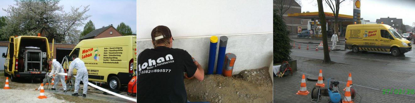 Kanalsanierung – Heizung –  Sanitär